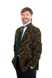 Cheerful middle aged man Royalty Free Stock Photos