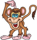 Cheerful Monkey Royalty Free Stock Images