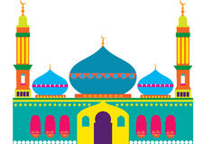 Cheerful Mosque Royalty Free Stock Image