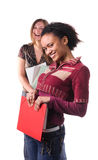 Cheerful multi-ethnic students Royalty Free Stock Image