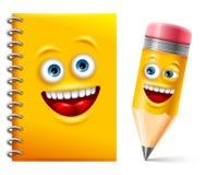 Notebook and Pencil Stock Photos