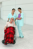 Cheerful nurses Stock Images