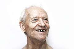A cheerful old man Royalty Free Stock Photo