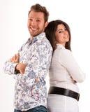 Cheerful pair Royalty Free Stock Photos