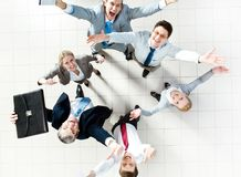 Cheerful partners Royalty Free Stock Images