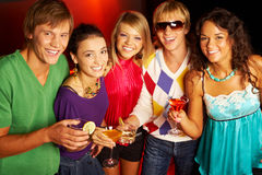 Cheerful people Stock Images