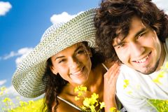Cheerful people Royalty Free Stock Images