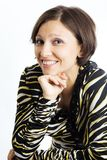 Cheerful person Royalty Free Stock Image