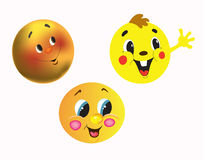 Cheerful persons Stock Images