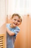 Cheerful play of kid Royalty Free Stock Photos