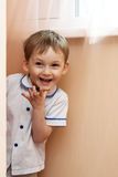 Cheerful play of kid Stock Photography