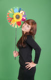 Cheerful portrait Stock Images
