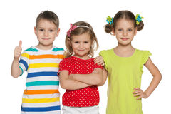 Cheerful preschoolers Stock Photography