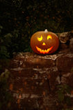 Cheerful Pumpkin Royalty Free Stock Image