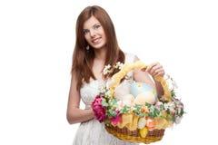 Funny festive girl Royalty Free Stock Image