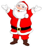 Cheerful santa Royalty Free Stock Image
