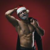 Cheerful santa Royalty Free Stock Photos