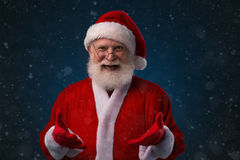 Cheerful Santa Claus Royalty Free Stock Photos