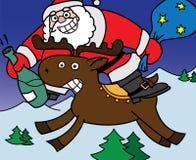 Cheerful Santa Claus Stock Photography