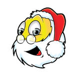 Cheerful Santa Claus smiley Royalty Free Stock Image