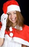 Cheerful santa royalty free stock image
