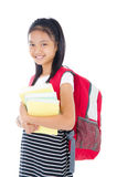 Cheerful school kid Stock Image