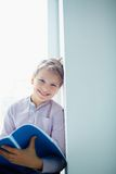 Cheerful schoolboy Royalty Free Stock Photo