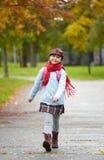 Cheerful schoolchild Royalty Free Stock Photos
