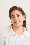 Cheerful schoolgirl Royalty Free Stock Photography