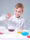 Cheerful scientist Royalty Free Stock Image