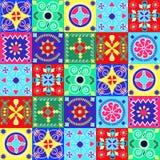 Cheerful seamless pattern - holiday- Illustration Stock Image