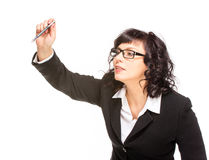 Cheerful senior business woman Royalty Free Stock Photography