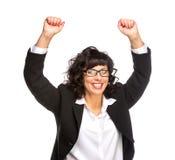 Cheerful senior business woman Royalty Free Stock Photos