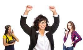 Cheerful senior business woman Royalty Free Stock Photo