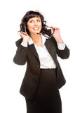 Cheerful senior business woman Royalty Free Stock Images