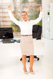Cheerful senior businesswoman Royalty Free Stock Photo
