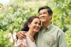 Cheerful senior couple Royalty Free Stock Images