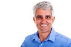 Cheerful senior man Stock Photo