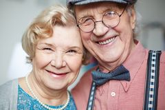 Cheerful seniors Royalty Free Stock Photography
