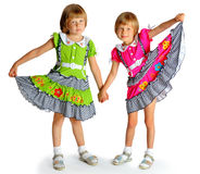 Cheerful sisters Royalty Free Stock Image