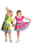 Cheerful sisters Stock Photo