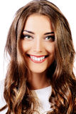 Cheerful smile Stock Photo
