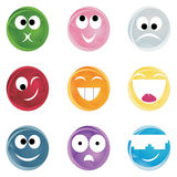 Cheerful smiles Royalty Free Stock Images