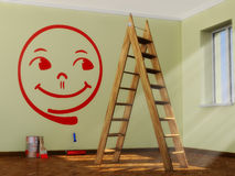 Cheerful smiley Royalty Free Stock Images