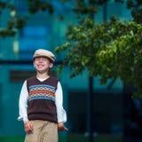 Cheerful smiling boy Stock Photo