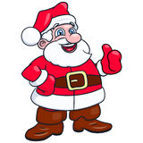 Cheerful smiling Santa Claus 2 Stock Photography