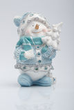 Cheerful snowman Royalty Free Stock Photos