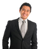 Cheerful Southeast Asian businessman Stock Photos