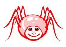 Cheerful spider Stock Photo