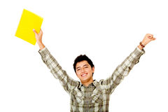 Cheerful student Royalty Free Stock Photography